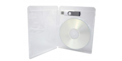 Blu-ray style USB and disc case