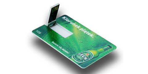 Branded Credit Card USB